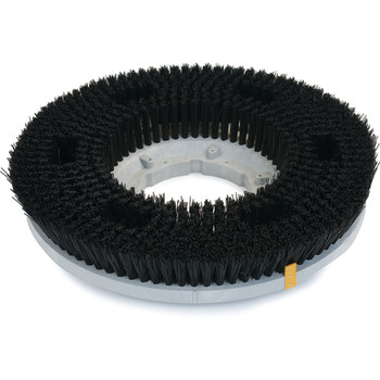 "ROTORY BRUSH - 15"" - POLY SCRUB - BLACK"