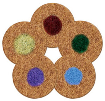 SPINERGY STONE POLISHING PADS - SET - 17""