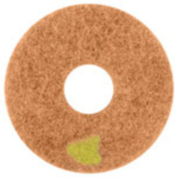 "SPINERGY STONE POLISHING PAD - 17"" - 8000 GRIT - YELLOW"