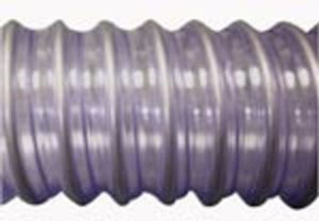 "PER FOOT - HD VAC HOSE - CLEAR - 2""  - SEE NOTE **"