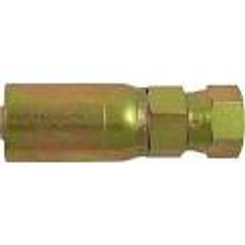 "HOSE END - SWIVEL - 1/4"" HOSE X 1/4"" FPT"