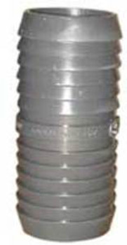 "PVC - 1.5"" X 1.5"" - INSERT COUPLING - HOSE CONNECTOR"
