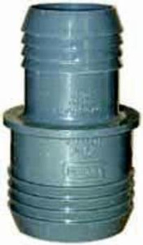 "PVC - 2"" X 1.5"" - INSERT COUPLING - HOSE REDUCER"