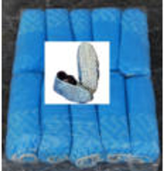 SHOE COVERS - BLUE - 16""