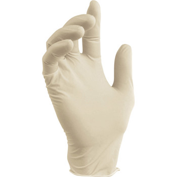 LATEX GLOVES - LARGE