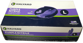 GLOVES - NITRILE - PURPLE