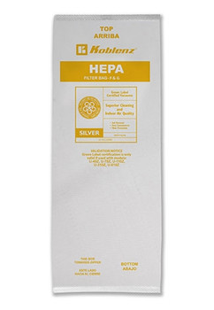 HEPA BAGS - MICROFILTRATION DISPOSABLE - (4/PK), KOBLENZ