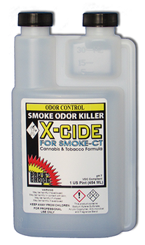 X-CIDE FOR SMOKE - PINT, CTI