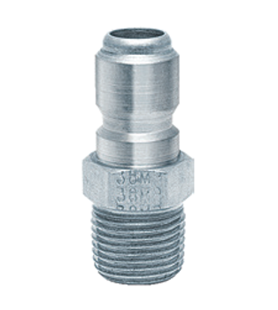 "QUICK CONNECT - 1/8"" - MALE - STAINLESS"