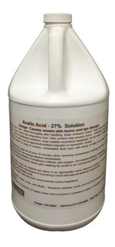 ACEDIC ACID 27% - GAL, WORKMASTER