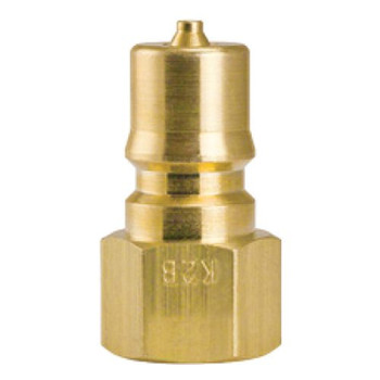 "QUICK CONNECT - MALE - 1/4"" - BRASS ***"
