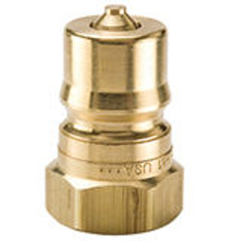 "QUICK CONNECT - 3/8"" - MALE - BRASS"