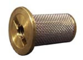 STRAINER SCREEN - W/ CHECK VALVE - TEE JET - BRASS