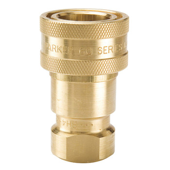 "QUICK CONNECT - 3/8"" - FEMALE - BRASS"