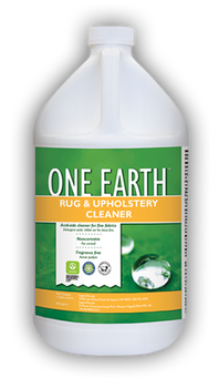 RUG & UPHOLSTERY CLEANER - ONE EARTH - GAL, CHEMSPEC