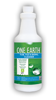 TUB TILE & BOWL CLEANER - ONE EARTH - QT, CHEMSPEC