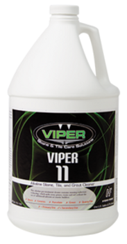 VIPER 11 - ALKALINE STONE, TILE, & GROUT CLEANER - GAL, VIPER