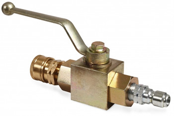 SHUT-OFF BALL VALVE, MI-T-M