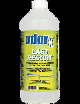 ODORx LAST RESORT, PRO RESTORE, QUART