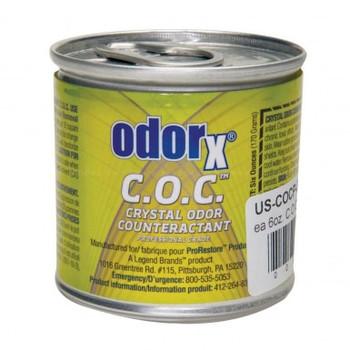 ODORx, C.O.C. CRYSTALS- CANS 6 OZ.