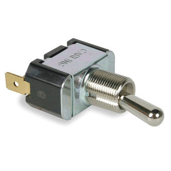 TOGGLE SWITCH - SPST - 20 AMPS - 110V - W/ SPADE