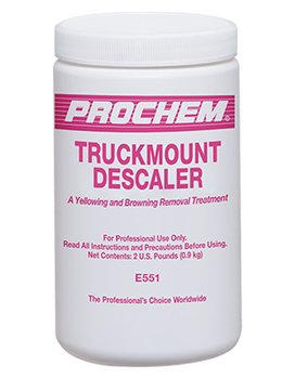 TRUCKMOUNT DESCALER - 2 LB, PROCHEM