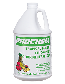 ODOR NEUTRALIZER - TROPICAL BREEZE FLUOROSIL - GAL, PROCHEM