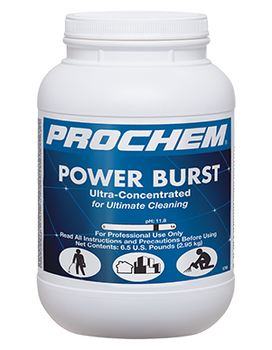 POWER BURST - 6.5 LB, PROCHEM
