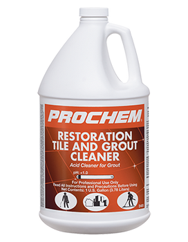 RESTORATION TILE & GROUT CLEANER - GAL, PROCHEM
