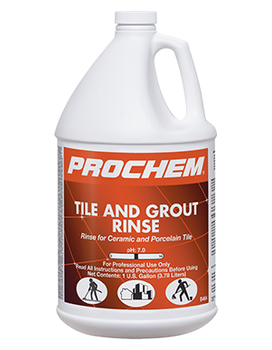 TILE AND GROUT RINSE - GAL, PROCHEM