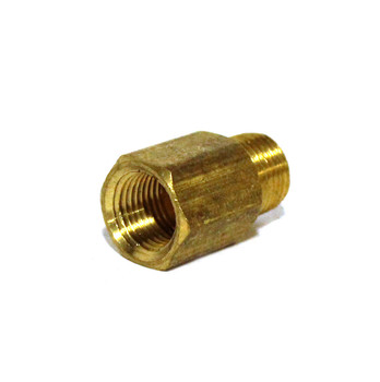 "ADAPTER - 1/8"" FPT X 1/8"" MPT - BRASS"