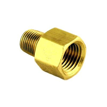 "ADAPTER - 1/4"" FPT X 1/8"" MPT - BRASS"