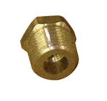 "PIPE BUSHING - 1/4"" FPT X 1/8"" MPT - BRASS"