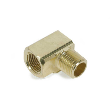 "STREET ELBOW - 90 DEGREE - BRASS - 3/8"" MPT X 3/8"" FPT"
