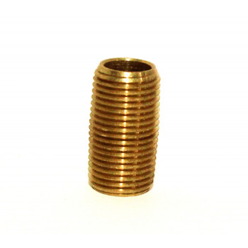 "NIPPLE - CLOSED - 1/8"" - BRASS"