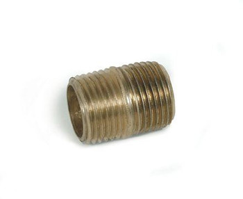NIPPLE - CLOSED - BRASS - 1/4""