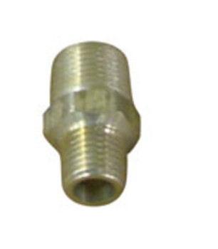 "NIPPLE - HEX REDUCING - 3/8"" X 1/4"" MPT"