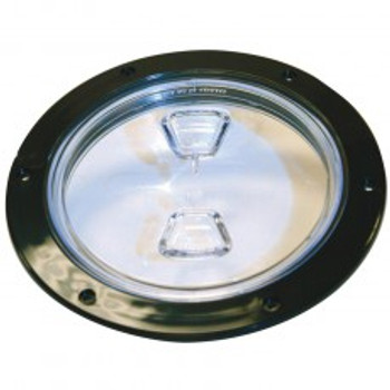 ACCESS COVER - CLEAR - CAP - 6""