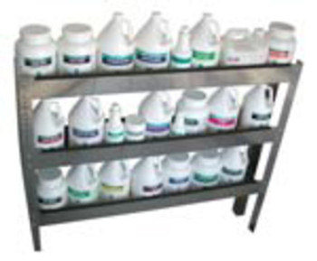 THREE TIER SHELF - ALUMINUM