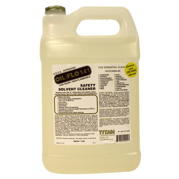 OIL FLO 141 - SOLVENT CLEANER - GAL, TITAN