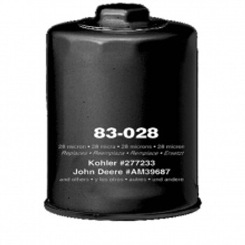 OIL FILTER - W/ NUT, ONAN