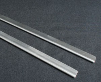 "WAND GLIDES - (2) -STAINLESS - 12"", PMF"