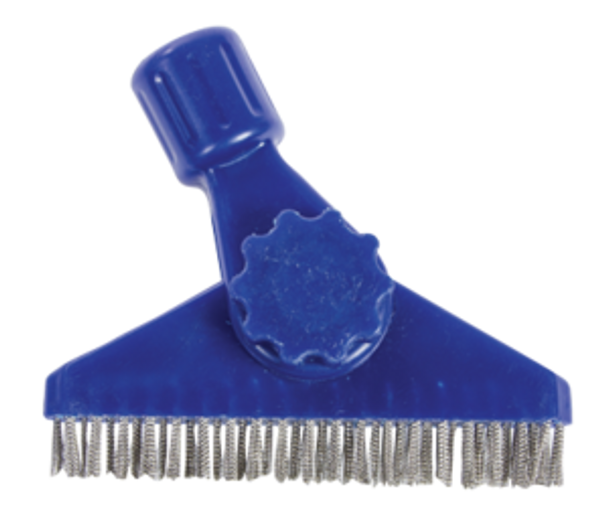 GROUT BRUSH - STAINLESS STEEL