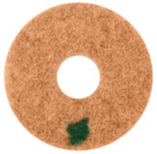 """SPINERGY STONE POLISHING PAD - 17"""" - 11000 GRIT - GREEN"""