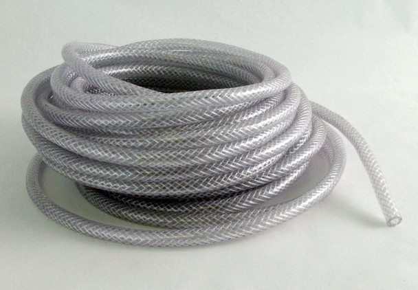 """PER FOOT - REINFORCED PVC TUBING - 1/4"""" X 3/8"""" - SEE NOTE **"""
