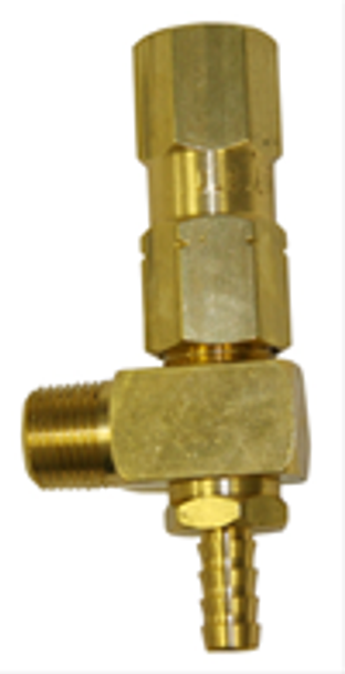 SAFETY RELIEF VALVE - 600 PSI