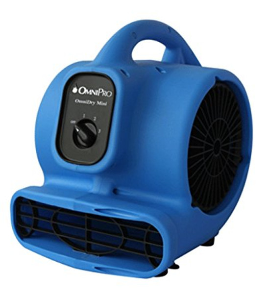 OMNIDRY - MINI AIR MOVER - BLUE