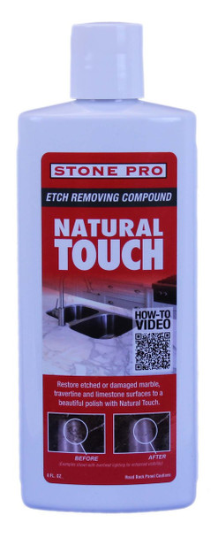 NATURAL TOUCH -  ETCH REMOVER - 8 OZ, STONEPRO