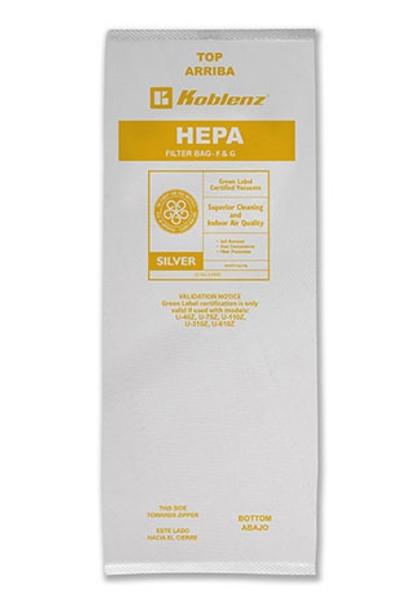 HEPA BAGS - MICROFILTRATION DISPOSABLE - (4/PK), KOBLENZ
