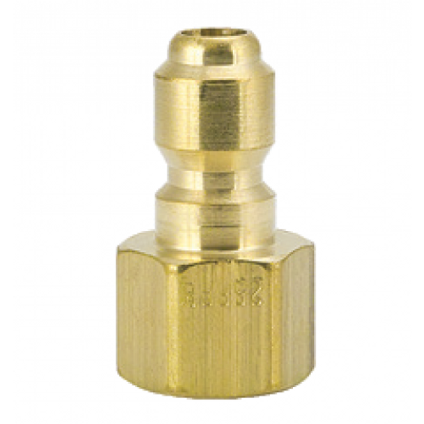 """QUICK CONNECT - 1/8"""" FPT - BRASS"""